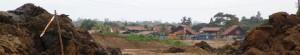 Le Village Saramaca en rénovation (Kourou, Guyane Française)