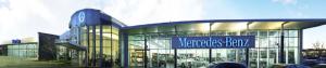 Concessionnaire Mercedes-Benz Silver Star sur la rue Jean-Talon Ouest
