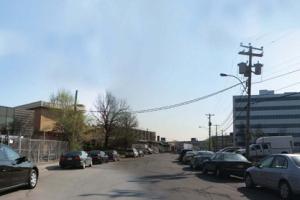 Vue actuelle de la rue Buchan dans le Triangle Namur/Jean-Talon