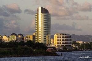 Tour du centre d'affaires de la Pointe Simon (Fort-de-France, Martinique)