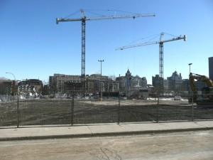 Début du chantier d'agrandissement de l'Hôpital St-Luc
