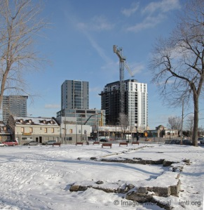 Construction de condos dans Griffintown