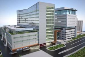 Maquette 3D du Pavillon K de l'Hôpital Général Juif