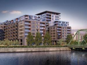 Vue en 3D de la Phase 2 des condos Le Canal Griffintown