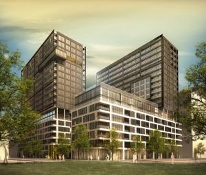 Plan en 3D des Condos Lowney Sur Ville