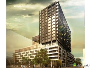 Vue en 3D de la phase 2 des condos Lowney sur Ville