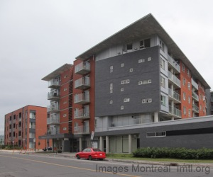 Une vue de la résidence Côte-St-Paul dans Griffintown