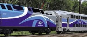Exemple de voitures bi-modes qui composeront le Train de l'Est