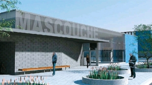 Vue en 3D du terminus de Mascouche