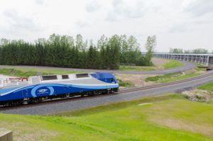 Premiers tests du Train de l'Est en vue de sa mise en service fin 2014