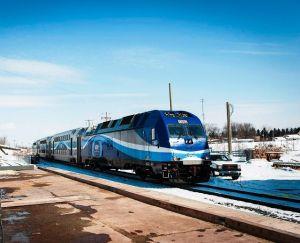 Mise à l'essai du Train de l'Est en mars 2014