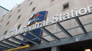 Entrée principale de la Gare centrale de Montréal