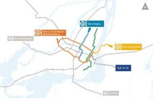 Plan d'extension du réseau de métro de Montréal
