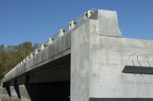 Construction d'un des ponts d'étagement du secteur Angrignon
