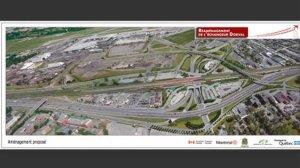 Vue aérienne en 3D du projet