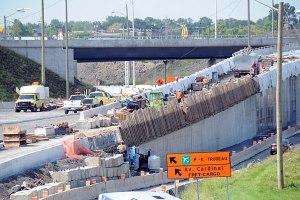 Impacts des travaux de réaménagement de l'échangeur Dorval sur la circulation