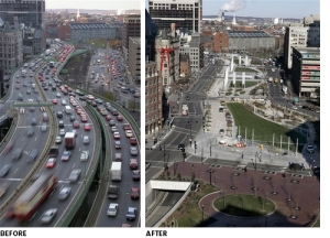 Le Big Dig à Boston (Massachussetts, USA) : source d'inspiration pour l'enfouissement de l'autoroute Métropolitaine