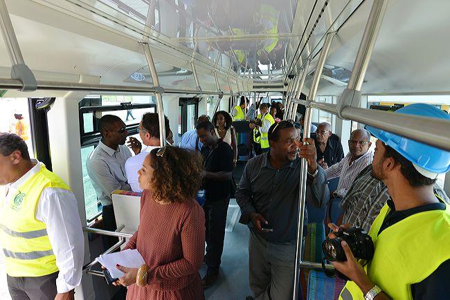1ers passagers TCSP Martinique