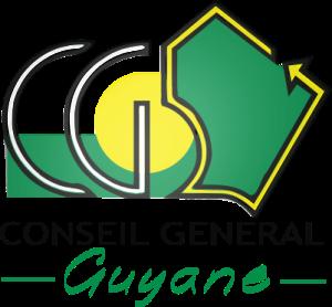 Logo du Conseil Général (ou départemental) de la Guyane