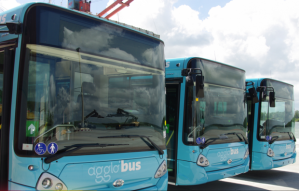 3 Agglo'bus de Cayenne à un terminus