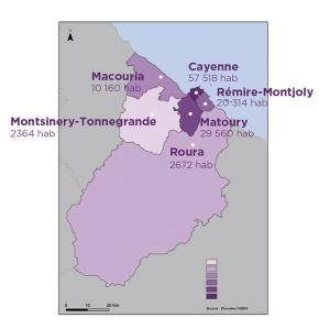 Carte du territoire de la CACL