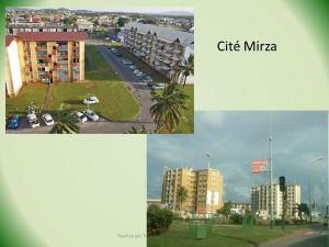 Une vue sur les HLM de la Cité Mirza, un des quartiers de Cayenne concernés par le projet du futur TSCP