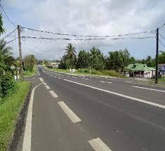 Projet carrefour giratoire Routa (Lamentin)