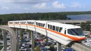 Exemple de ligne de monorail qui serait mise en circulation sur l'île de la Réunion