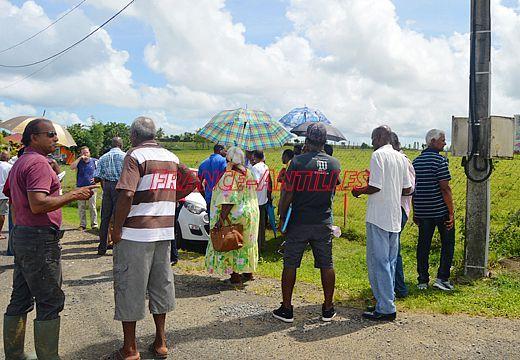 Réaménagement RN2 rencontre Région Guadeloupe et riverains septembre 2017