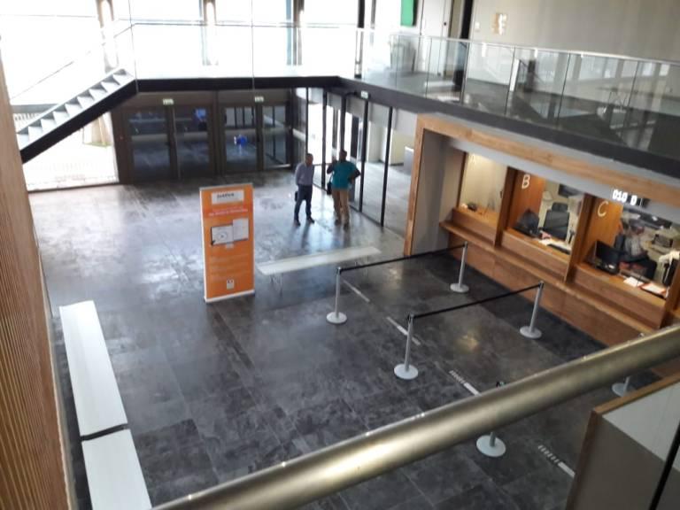 Salle d'accueil Nouveau TGI PAP