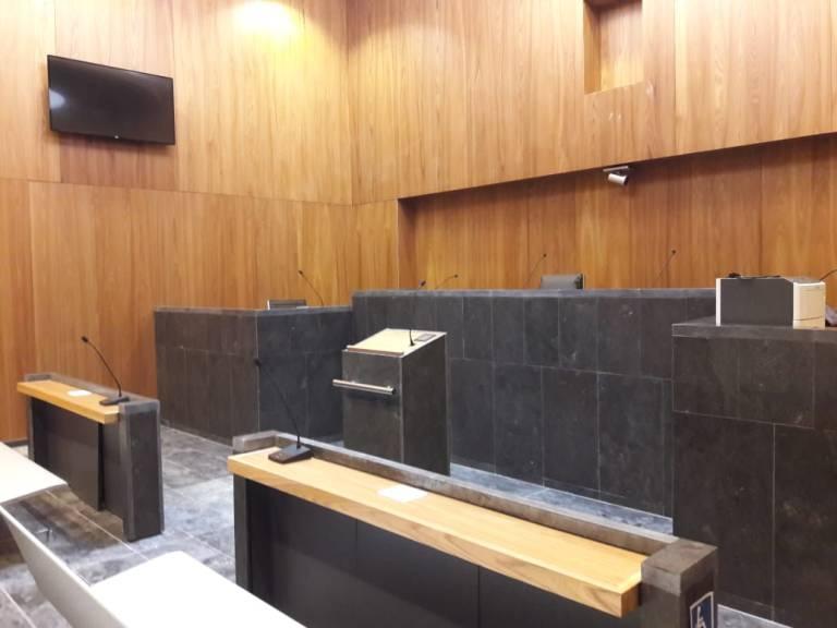 Salle d'audience Nouveau TGI PAP
