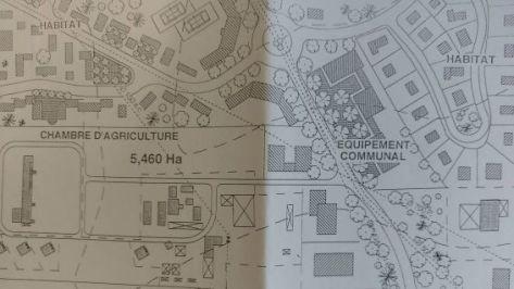 Plan d'aménagement zone du Morne Bernard - 1995