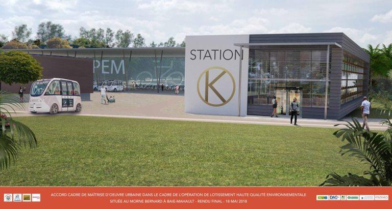 Station multimodale du futur technopôle du Morne Bernard (Baie-Mahault)