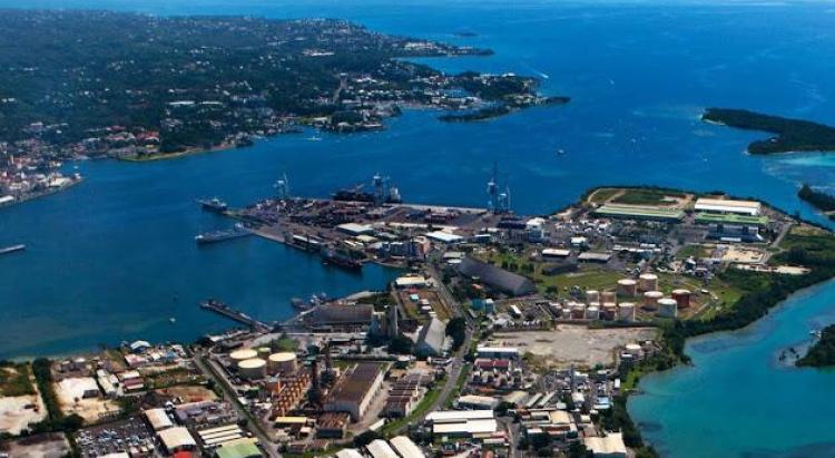 Vue aérienne de la Pointe Jarry