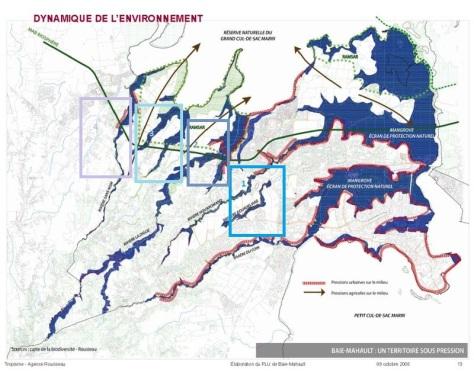 Carte environnementale - PLU de Baie-Mahault