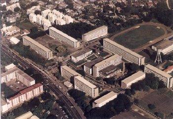 Vue aérienne Cité scolaire de Baimbridge